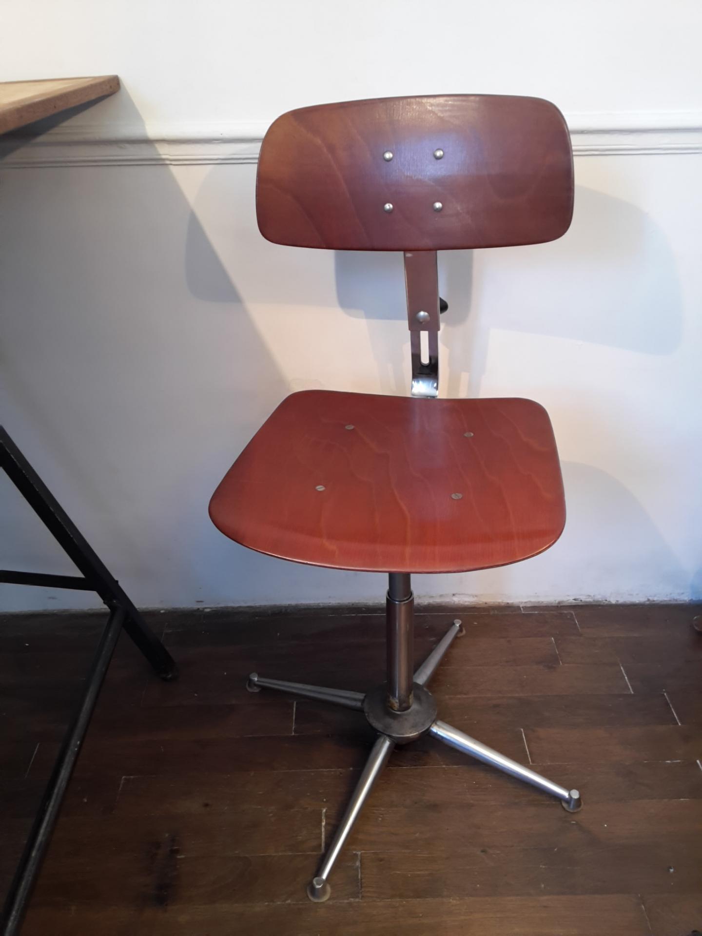chaise bureau industriel conceptions de maison. Black Bedroom Furniture Sets. Home Design Ideas