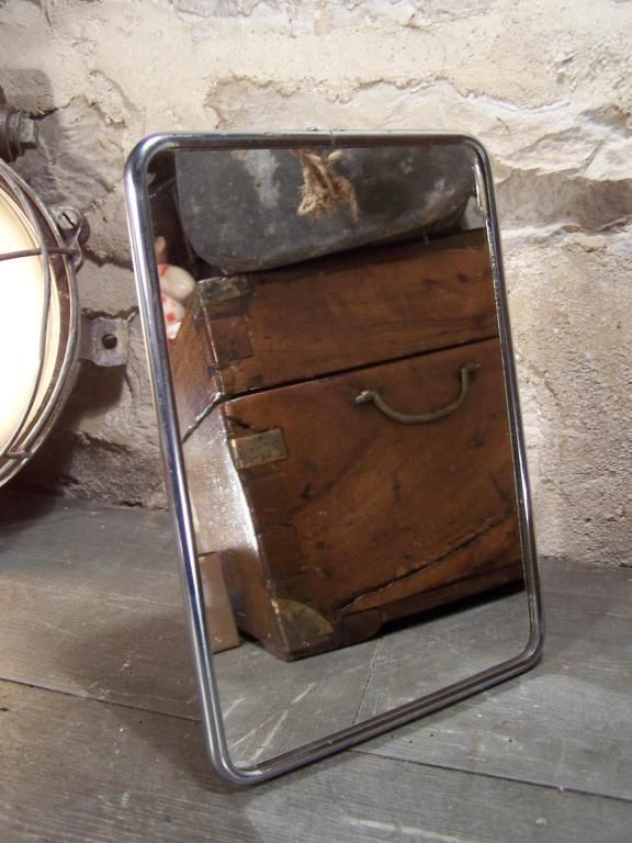 ancien miroir de barbier. Black Bedroom Furniture Sets. Home Design Ideas