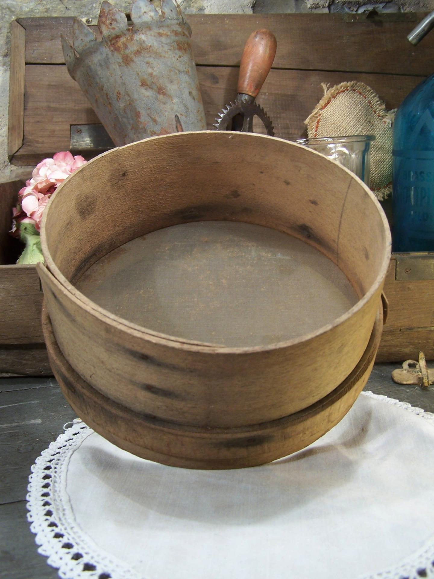 Ancien tamis de cuisine for Tamis de cuisine