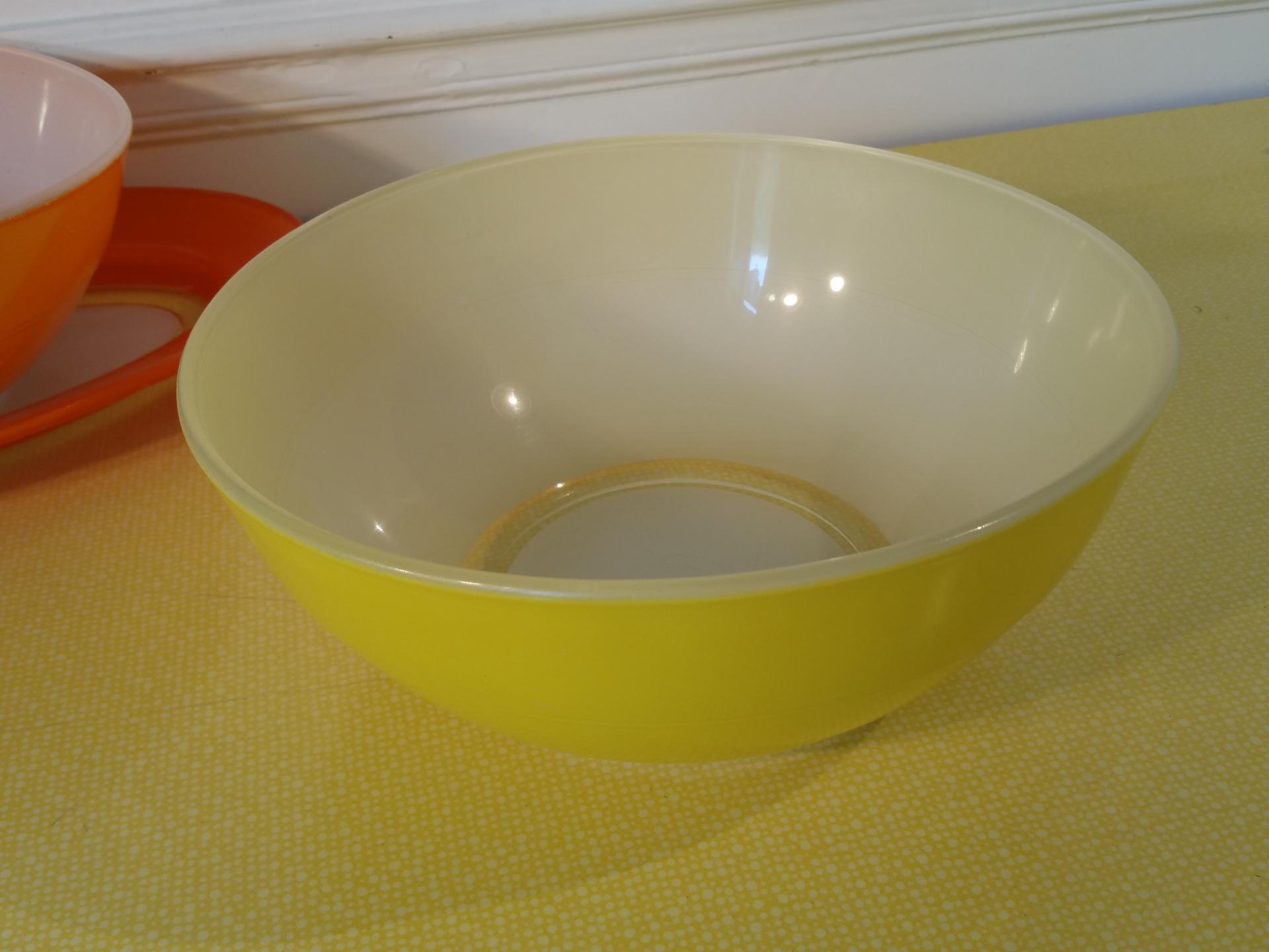 2 saladier duralex jaune