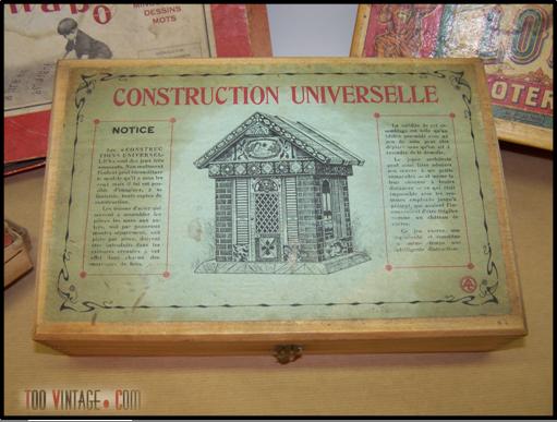 Ancien jeu de construction