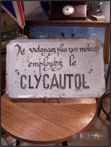 Publicit de garage automobile ancienne plaque publicitaire for Panneau publicitaire garage automobile