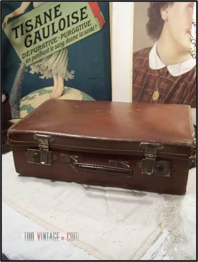 Ancienne valise en carton - Valise en carton a decorer ...