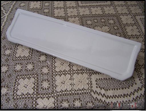 Tablette Salle De Bain Blanche : Tablette ancienne de salle de bain