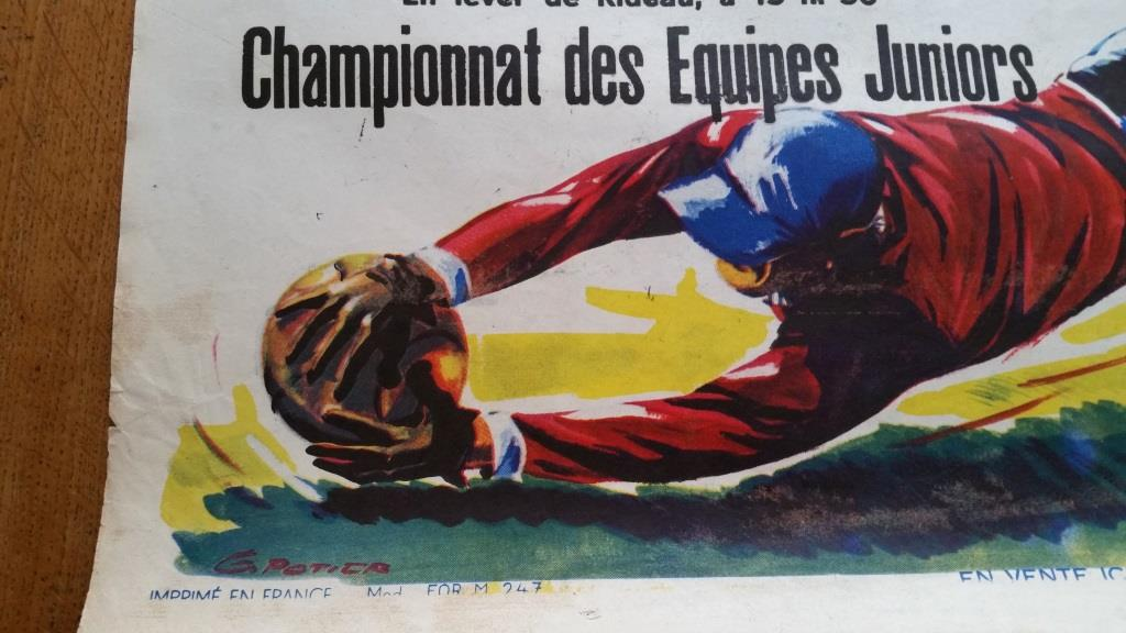 0 affiche de foot ricard foyer