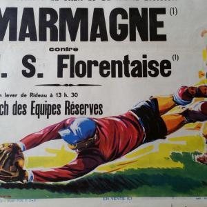0 affiche de foot ricard marmagne