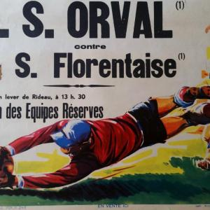 0 affiche foot ricard orval