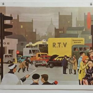 0 affiche scolaire 1967 21 et 22