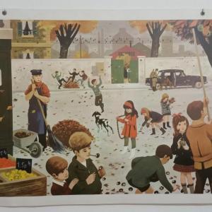 0 affiche scolaire 1967 7 et 8