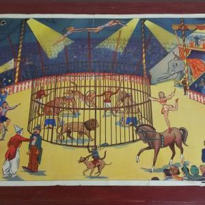 0 affiche scolaire rossignol cirque et averse