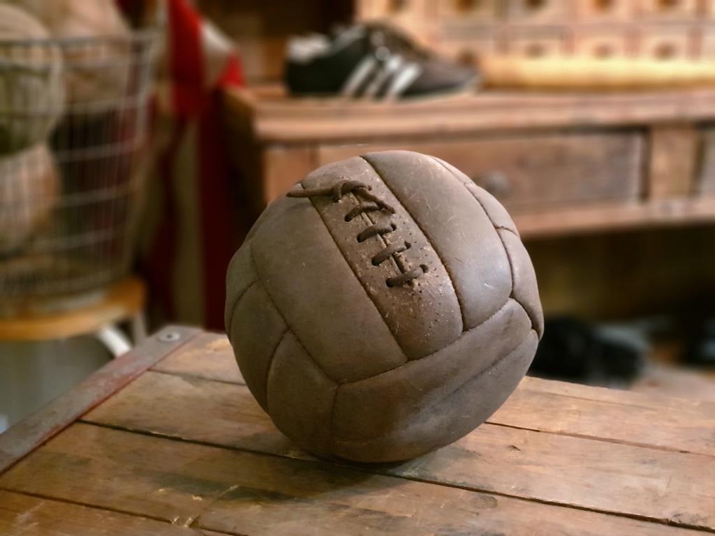 0 ballon cuir avec lacet