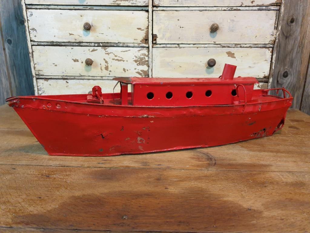 0 bateau de pompier