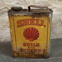 0 bidon huile shell moteurs