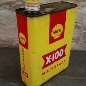 0 bidon huile shell x100