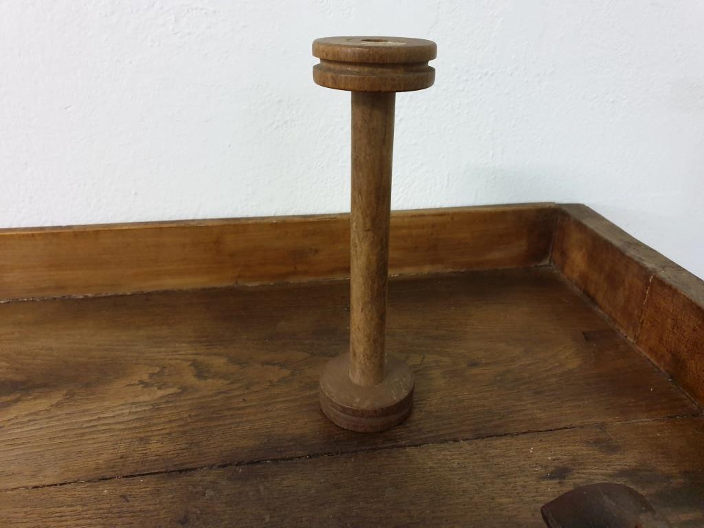 0 bobine de fil en bois