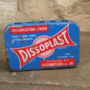 0 boite de rustines dissoplast