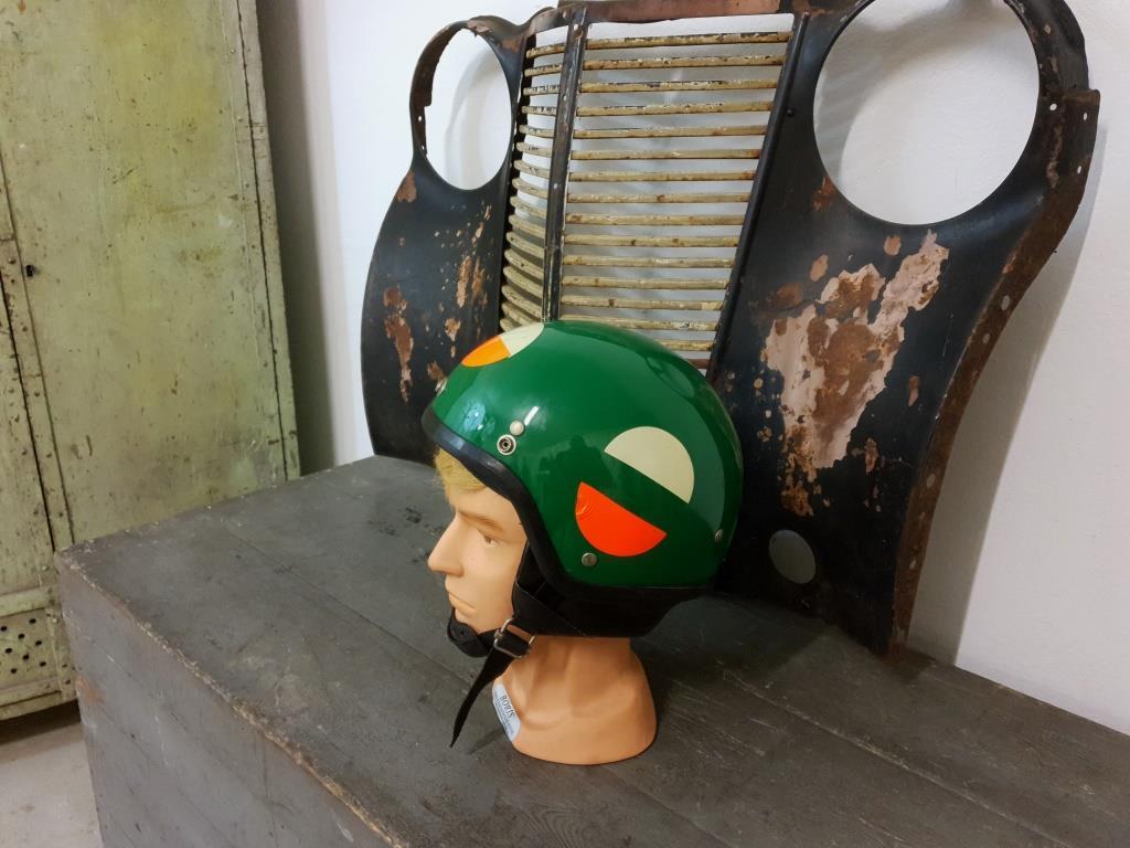 0 casque bol vert nolan