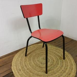 0 chaise en formica