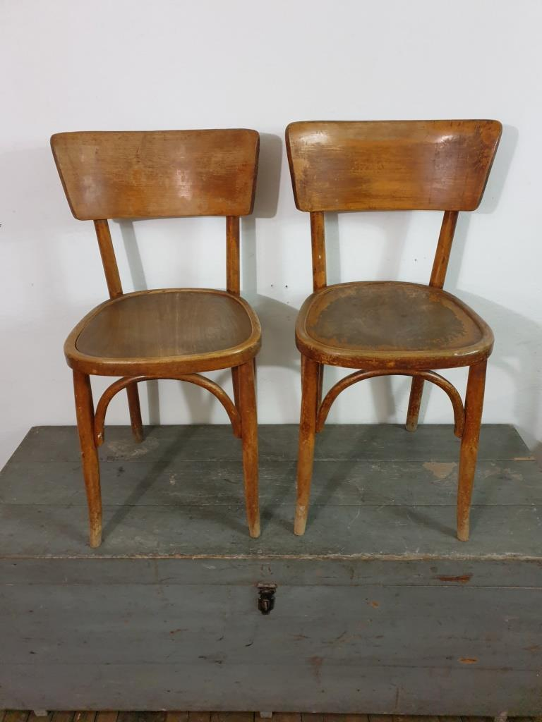 0 chaises bistrot paire 2