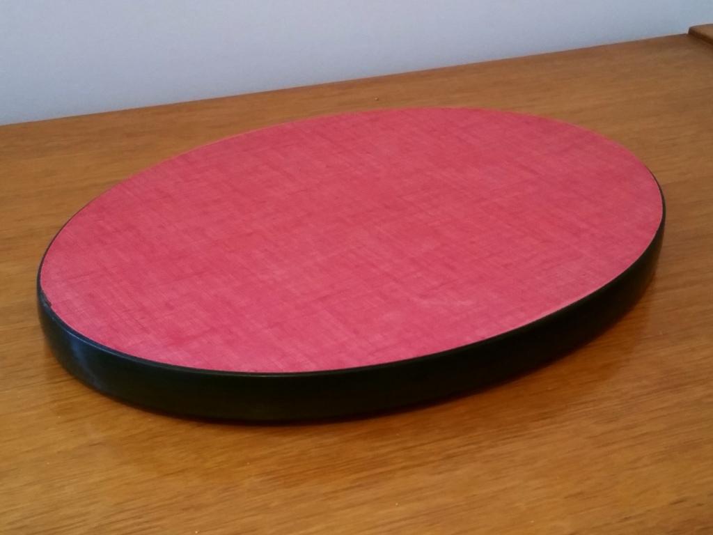 0 dessous de plat formica rouge