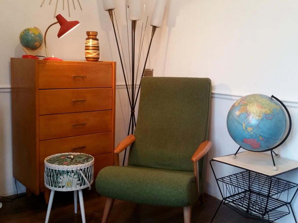0 fauteuil scandinave