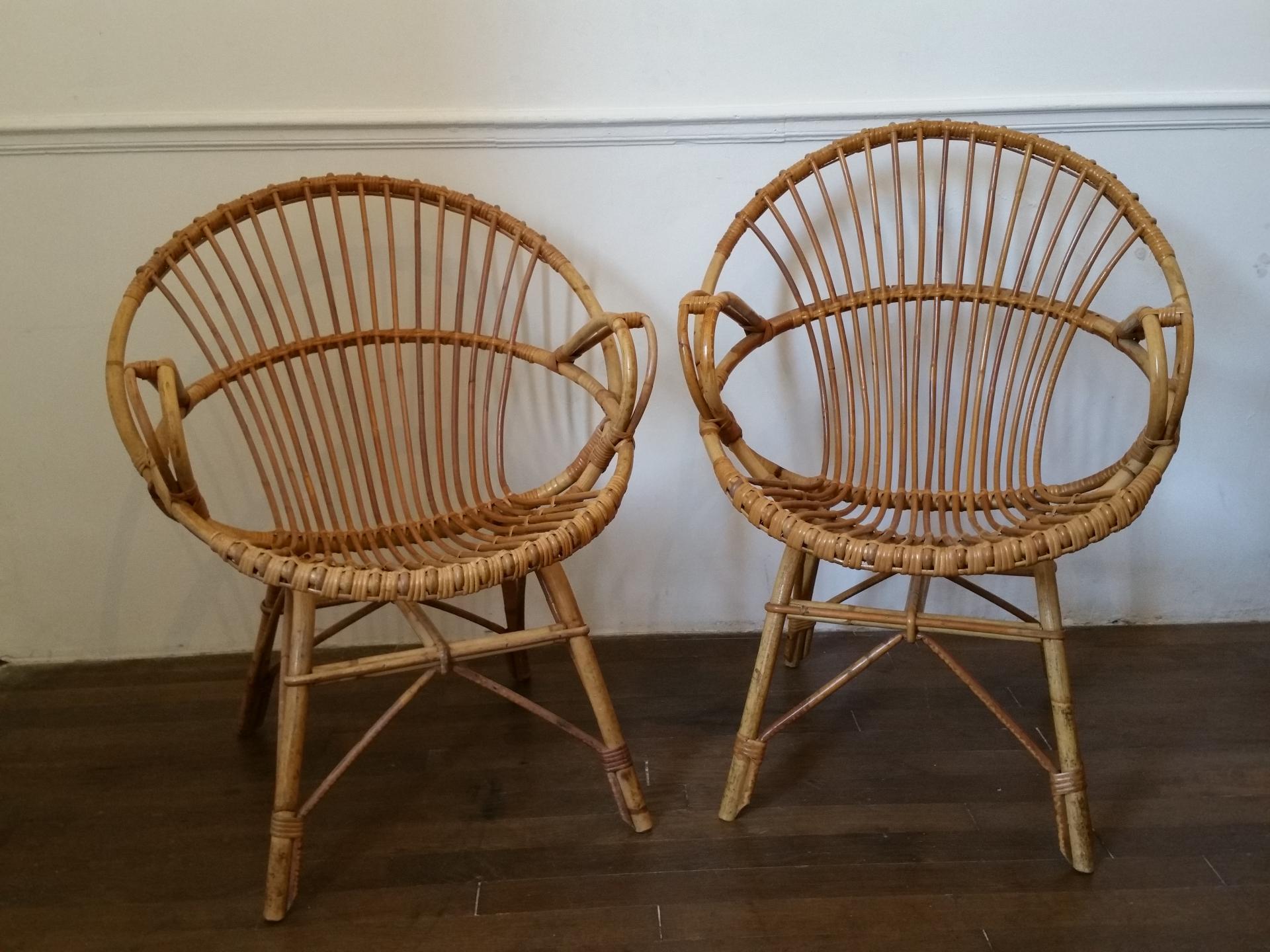 0 fauteuils en osier