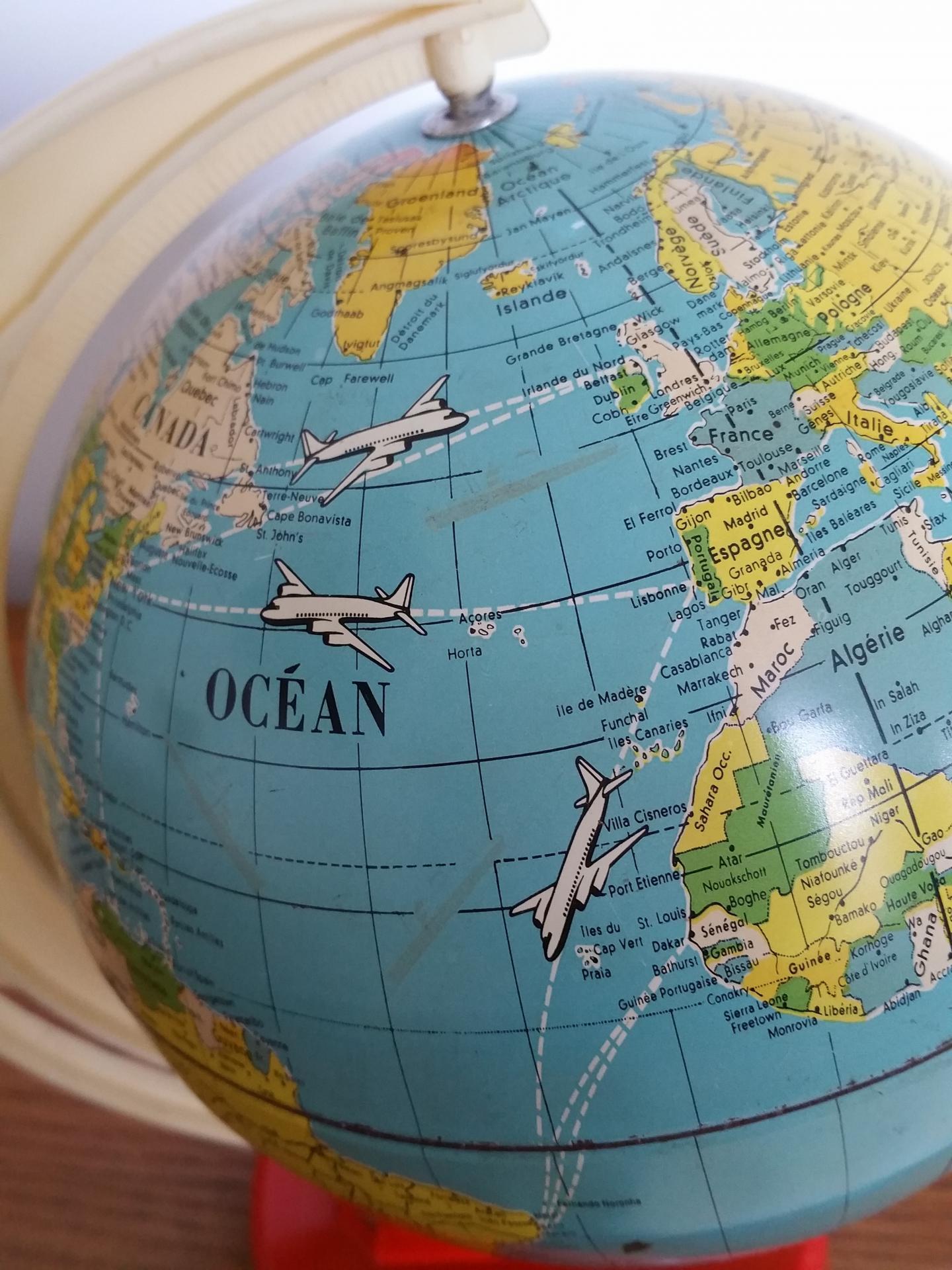 0 globe avions