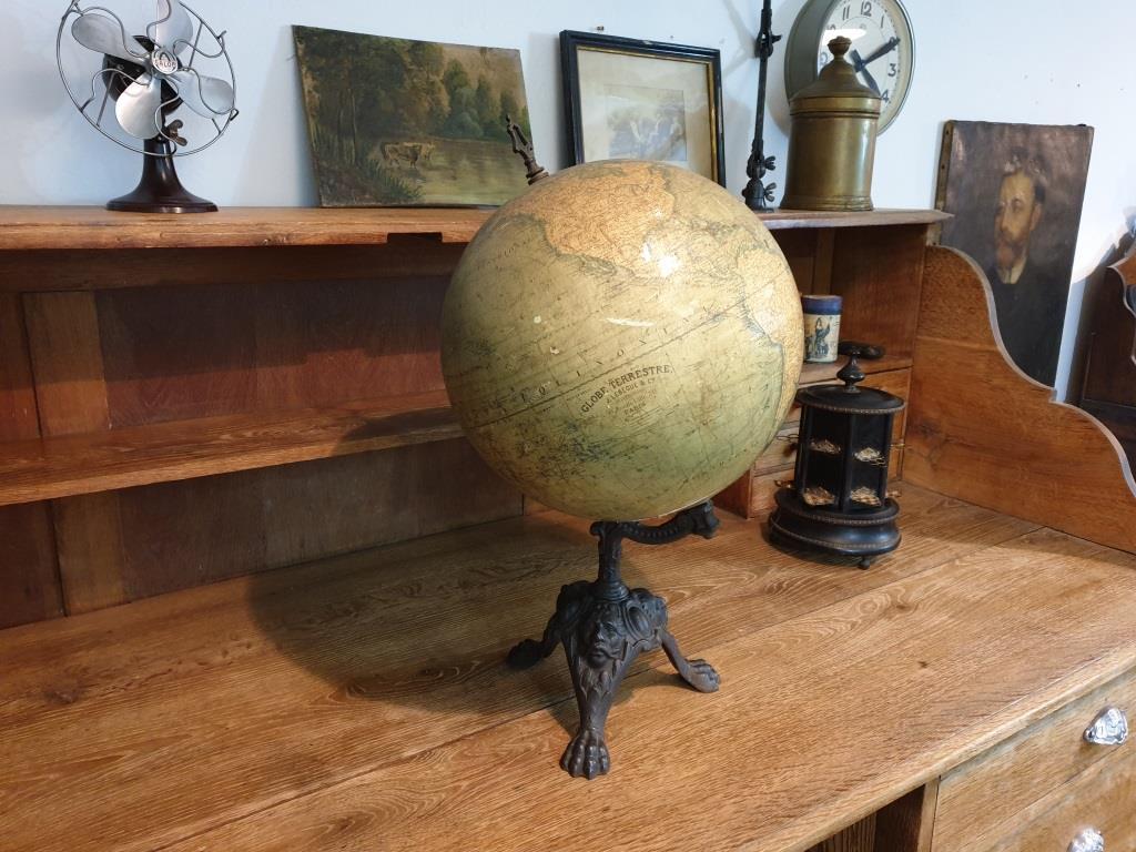 0 globe terrestre napoleon 3