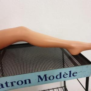 0 jambe presentoir bas