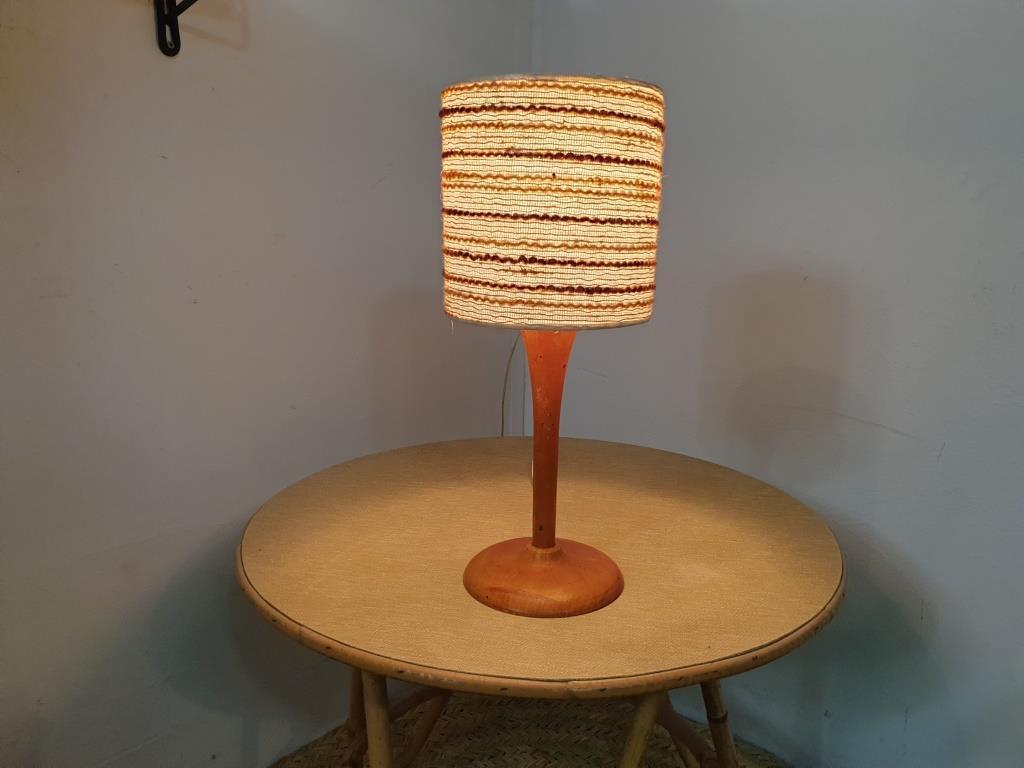 0 lampe bois laine