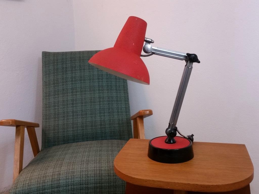 0 lampe de bureau chrome