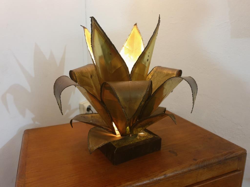 0 lampe plante agave style jansen