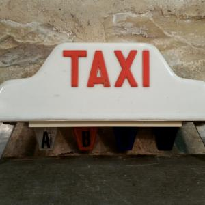 0 lampe taxi
