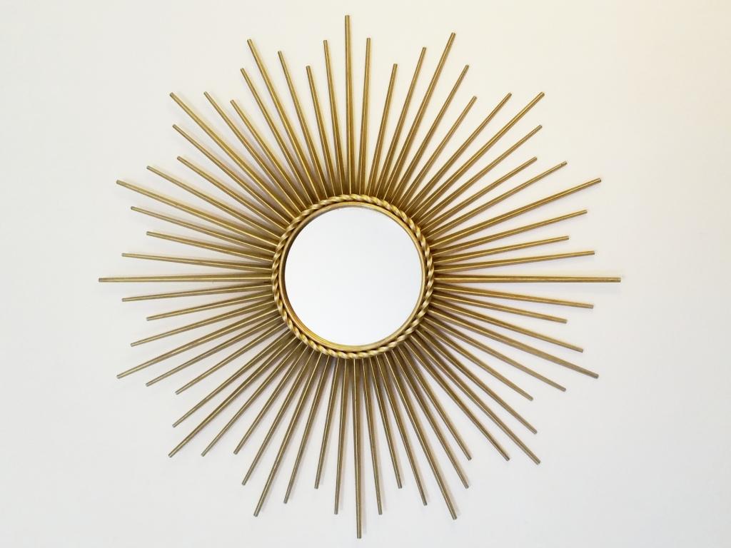 Brocante for Glace soleil miroir