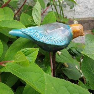 0 oiseau en terre cuite