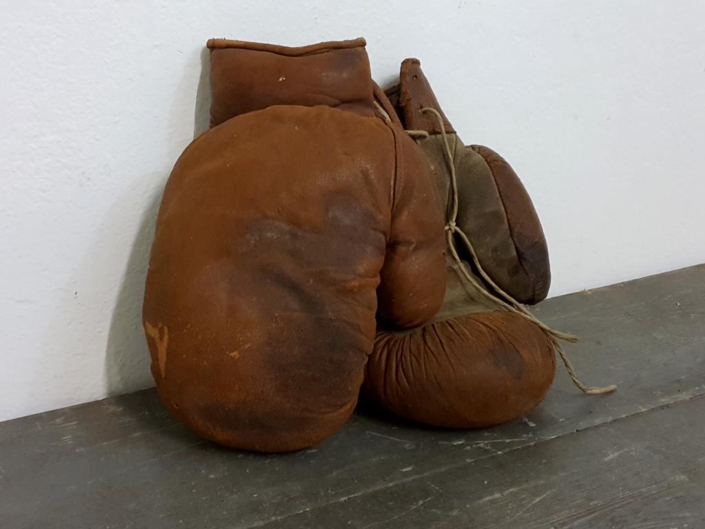 0 paire de gants de boxe