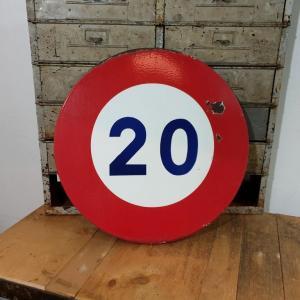 0 panneau 20kmh