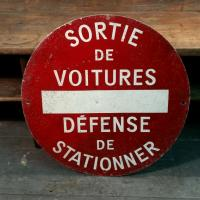 0 panneau defense de stationner 1