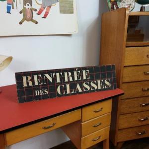 0 panneau rentree des classes