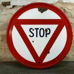 0 panneau stop