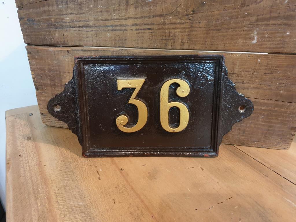 0 plaque de rue 36