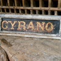 0 plaque ecurie cyrano