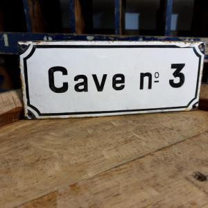 0 plaque emaillee caven 3