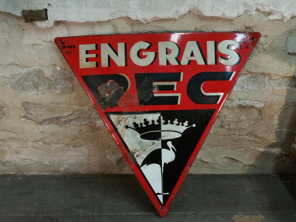 0 plaque emaillee pec