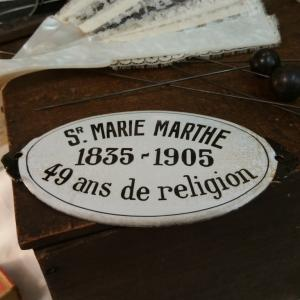 0 plaque emaillee ste marie