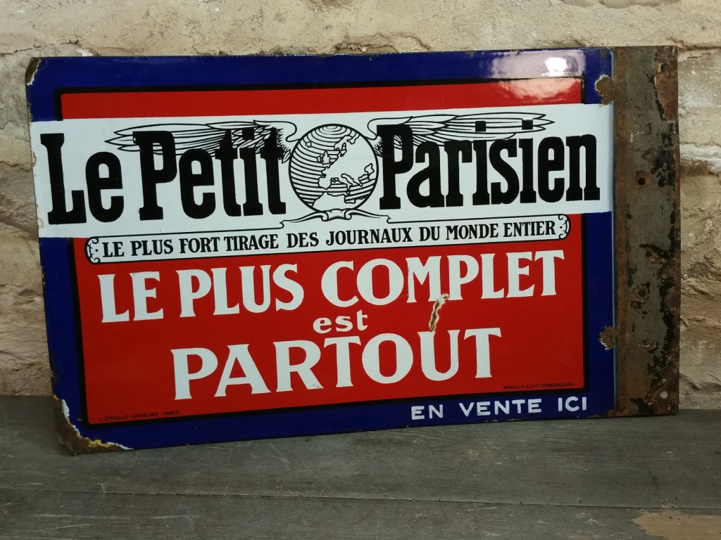 0 plaque le petit parisien