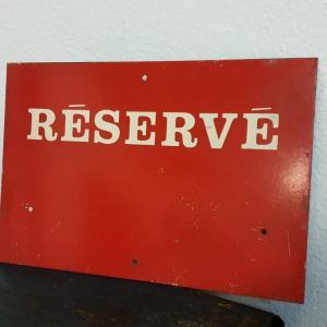 0 plaque reserve