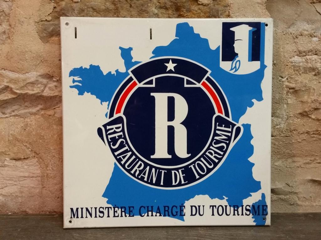 0 plaque restaurant de tourisme