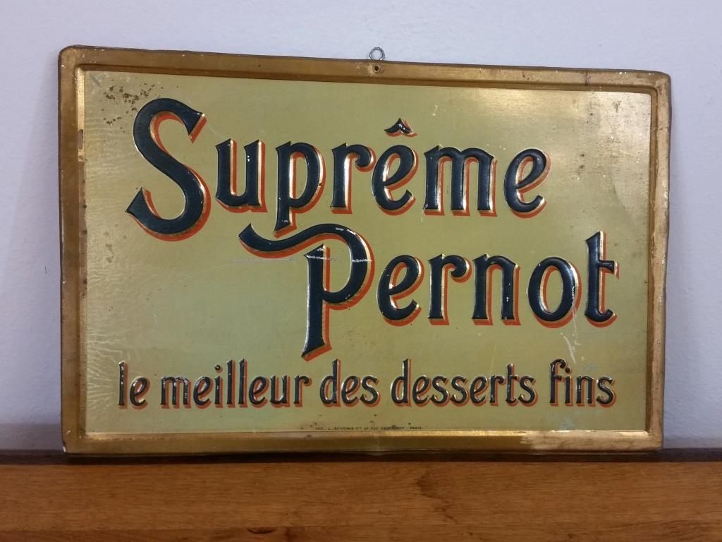 0 plaque supreme pernot
