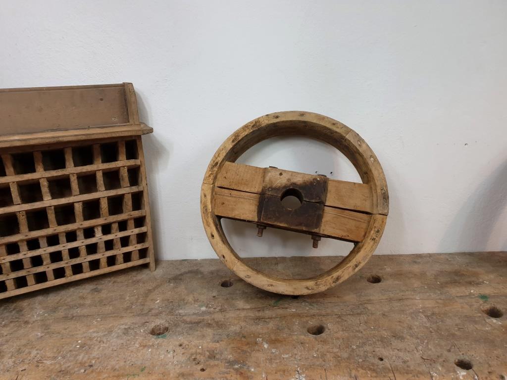 0 poulie bois largeur 10